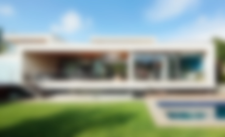 Projekty,  Domy zaprojektowane przez Hoz Fontan Arquitectos