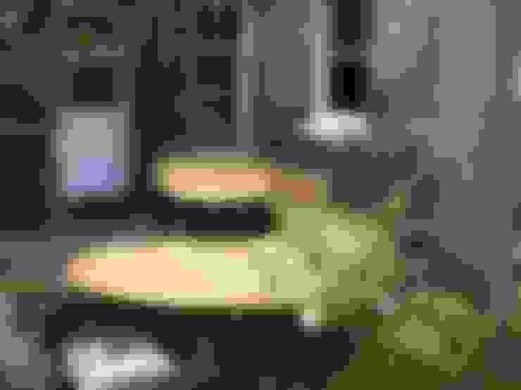 Jardín de estilo  por tim germain furniture designer/maker