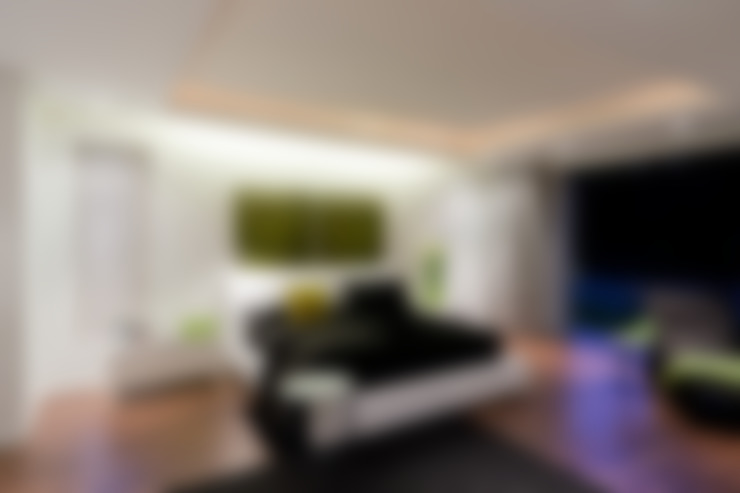 Chambre de style  par Nico Van Der Meulen Architects