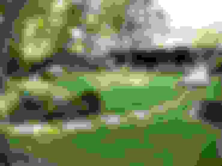 Jardines de estilo  por Louise Yates Garden Design