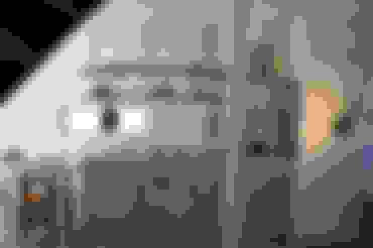 Cocinas de estilo  por さくま建築設計事務所