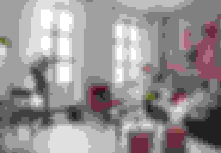غرفة المعيشة تنفيذ Interiorismo Paloma Angulo