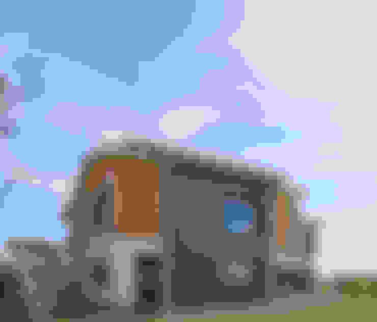 Bilge Çınar Orman Ür. ltd.şti – KIZIL SEDİR CEPHE KAPLAMA:  tarz Evler