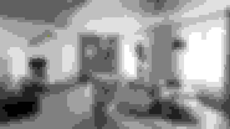 студия визуализации и дизайна интерьера '3dm2'が手掛けたリビング