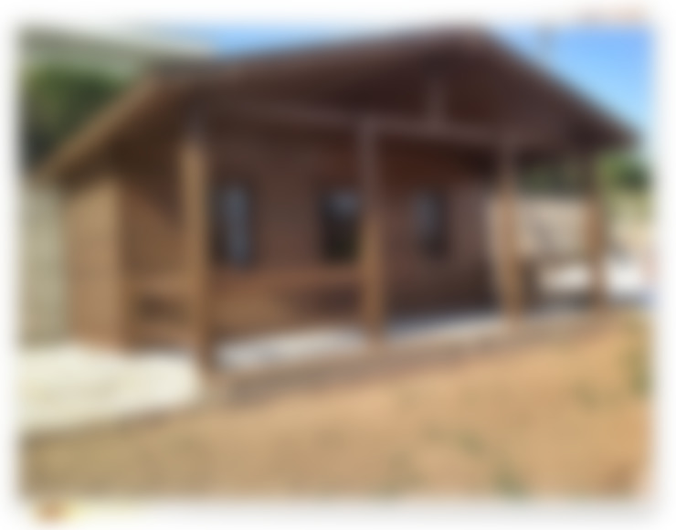 Casas de estilo  de YEŞEREN AHŞAP DEKORASYON
