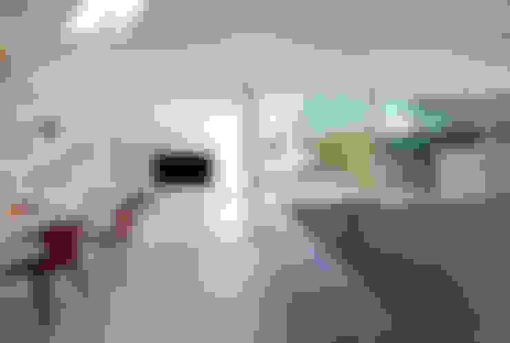 Salas de estilo  por 株式会社ブレッツァ・アーキテクツ