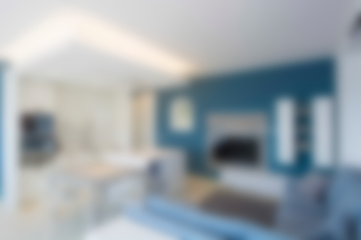 Salas / recibidores de estilo  por Architetto ANTONIO ZARDONI