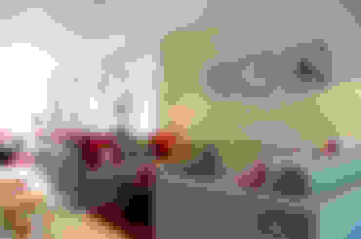 غرفة المعيشة تنفيذ LLI Design