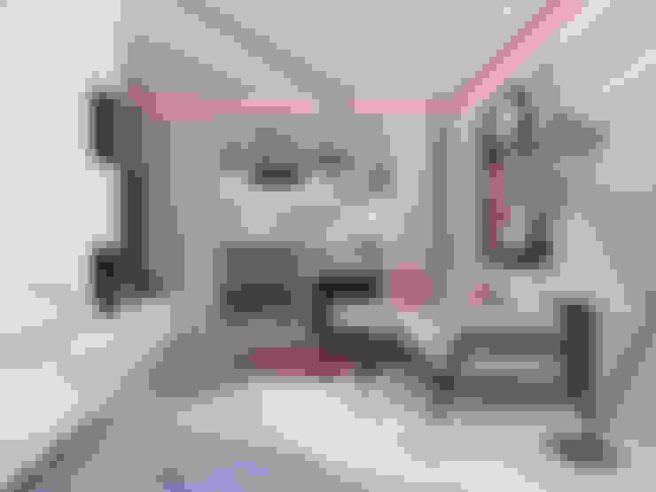 Однокомнатная квартира в стиле поп-арт: Гостиная в . Автор – EEDS дизайн студия Евгении Ермолаевой