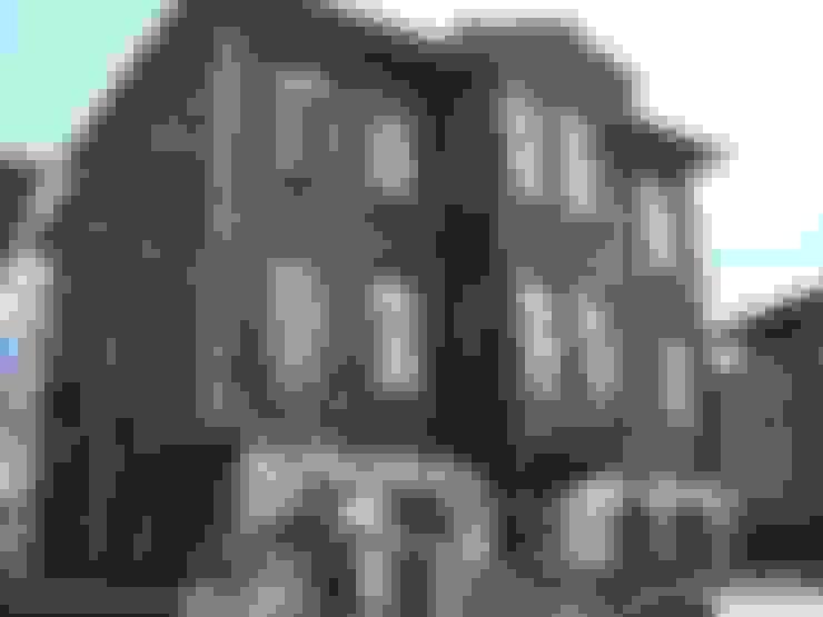 BOYTORUN ARCHITECTS – BARTIN KAF KONAK - RESTORASYON ÖNCESİ ÖN CEPHE:  tarz Oteller