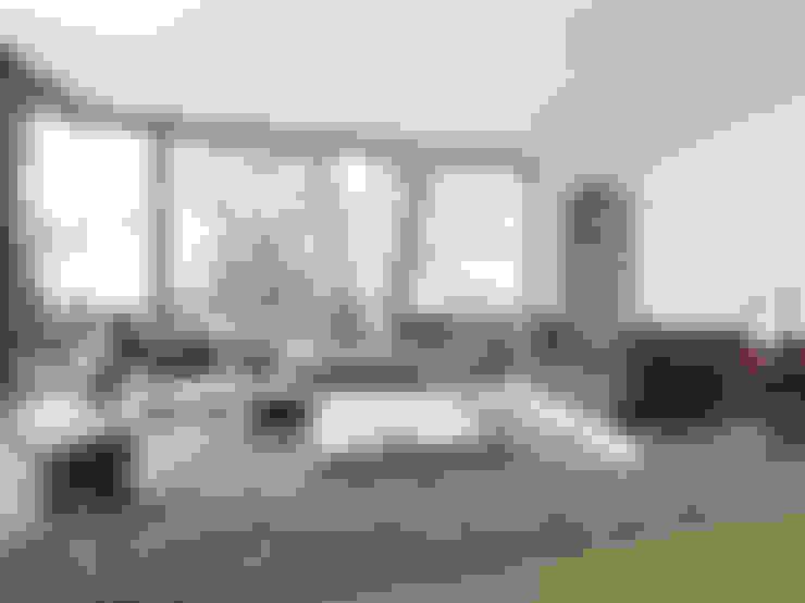 Гостиная в . Автор – STREIF Haus GmbH