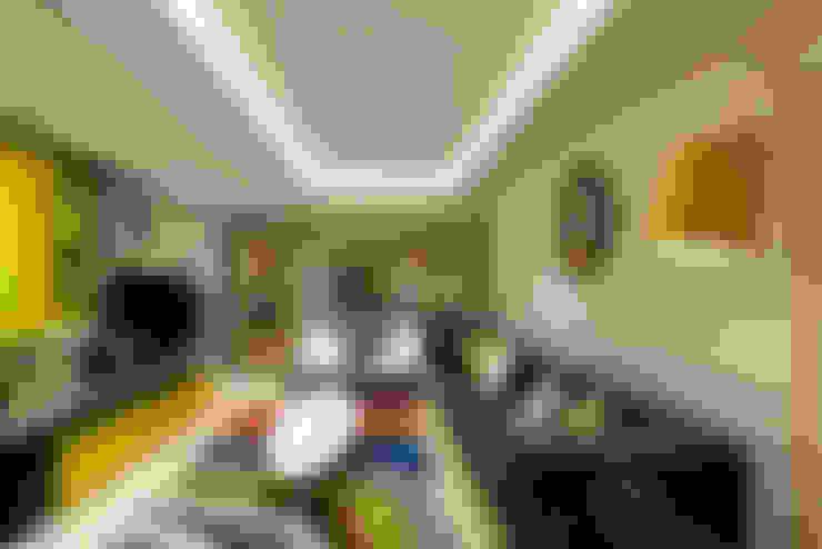 Mimoza Mimarlık – A. MORİTA EVİ  ANTALYA:  tarz Oturma Odası