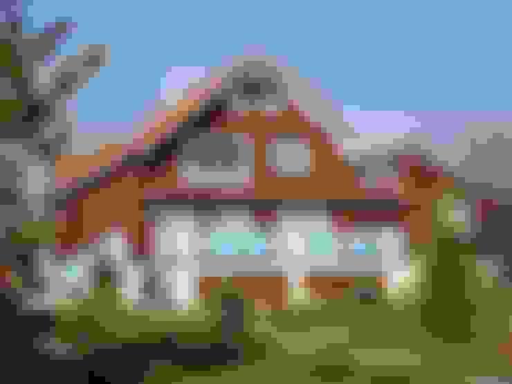 Casas de estilo  de архитектурная мастерская МАРТ