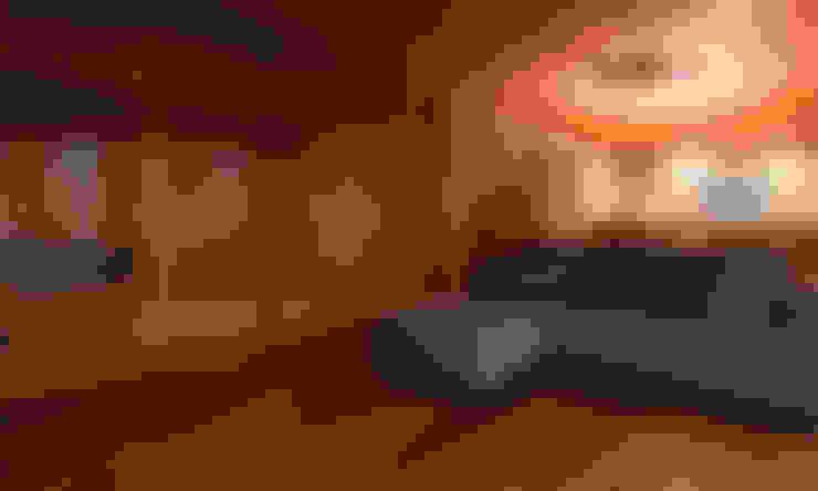 Ruang Keluarga by 宝角建築アトリエ