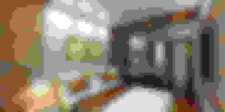 Квартира на Четаева: Спальни в . Автор – Евгения Габитова