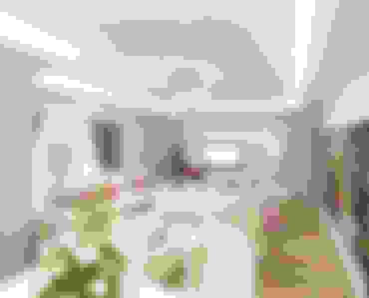 Meral Akçay Konsept ve Mimarlık – Feng Shui Uygulama:  tarz Oturma Odası