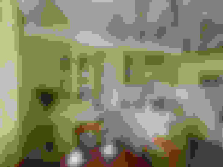 """""""По стопам Прерафаэлитов"""": Кухни в . Автор – D&T Architects"""
