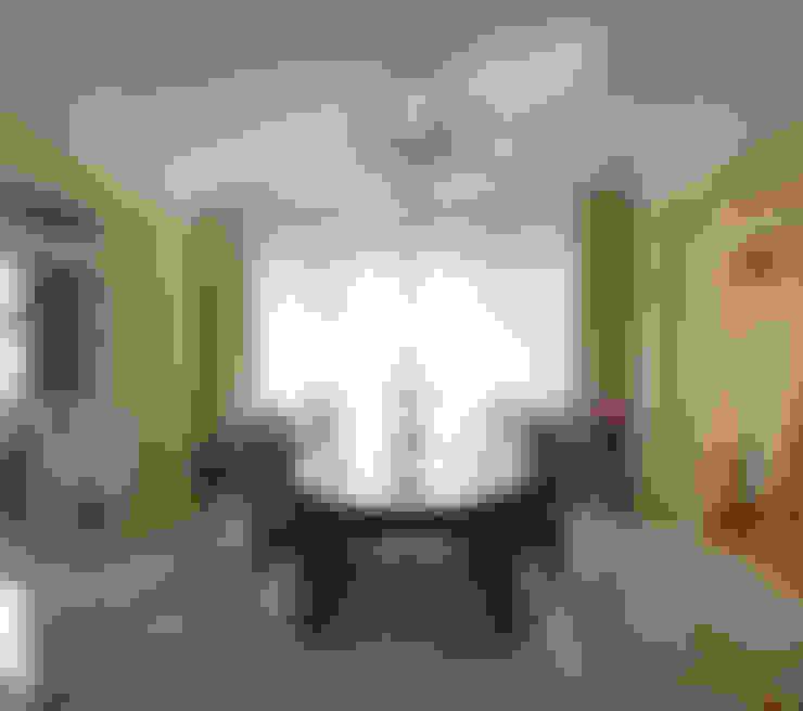 Слоновая кость и сливки: Столовые комнаты в . Автор – D&T Architects