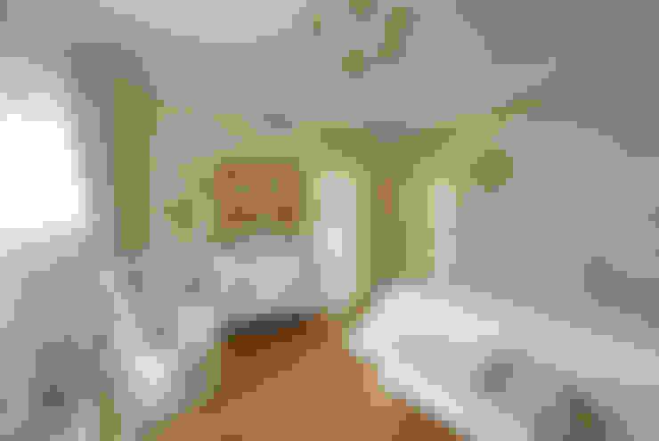 Слоновая кость и сливки: Спальни в . Автор – D&T Architects