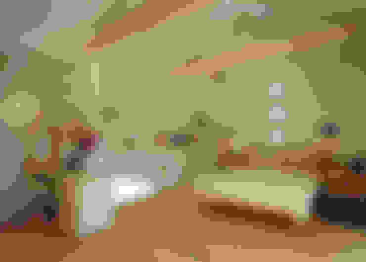 ガレージハウス: ジェイ石田アソシエイツが手掛けた寝室です。