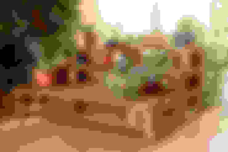 Jardines de estilo  por ECOdECO Mobiliario