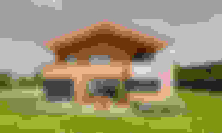 Casas de estilo  de plan X architekten gmbh