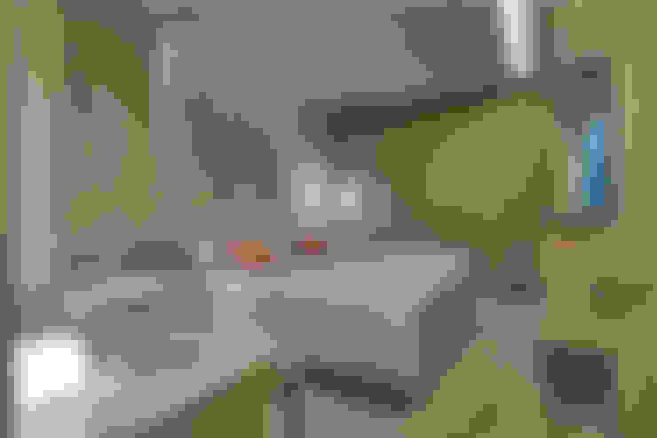 Apartamento Belvedere 2014: Quarto  por Gislene Lopes Arquitetura e Design de Interiores