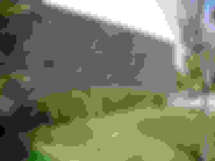 Jardin de style  par Piedra Serena