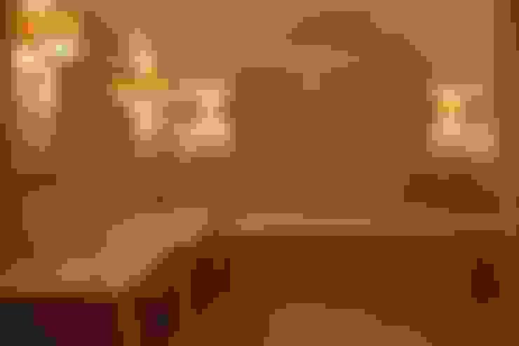Пурпурное  настроение: Ванные комнаты в . Автор – Studio B&L