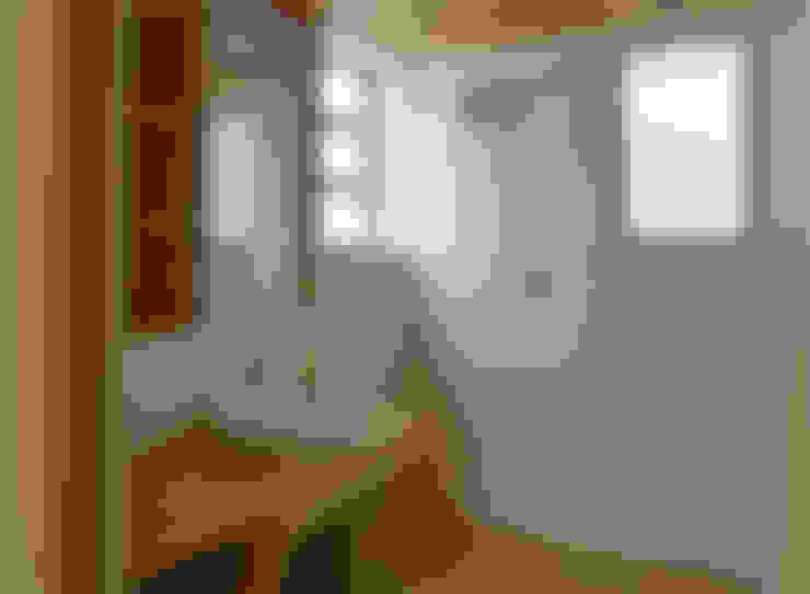 Ванные комнаты в . Автор – 竹内裕矢設計店