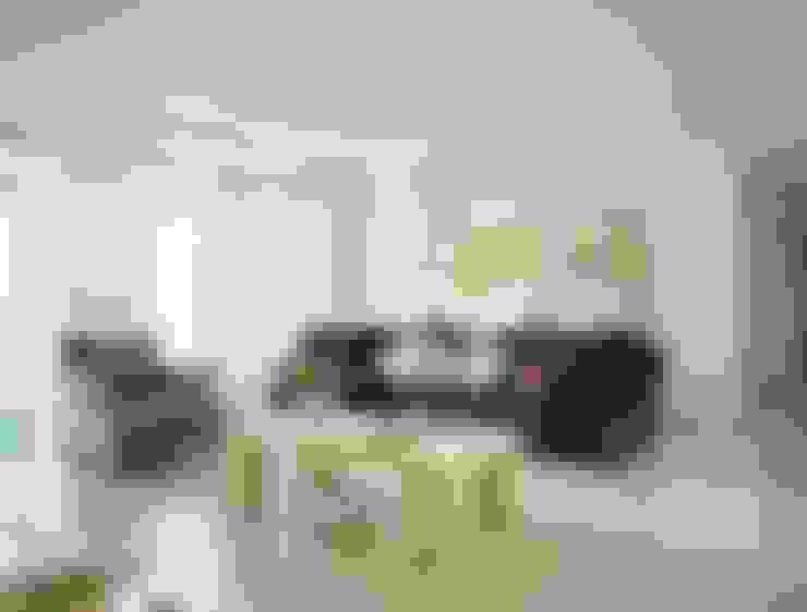غرفة المعيشة تنفيذ 참공간 디자인 연구소