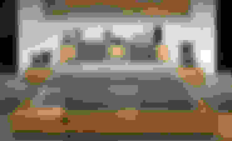 Oak Madra Bed: Recámaras de estilo  por bolighus design