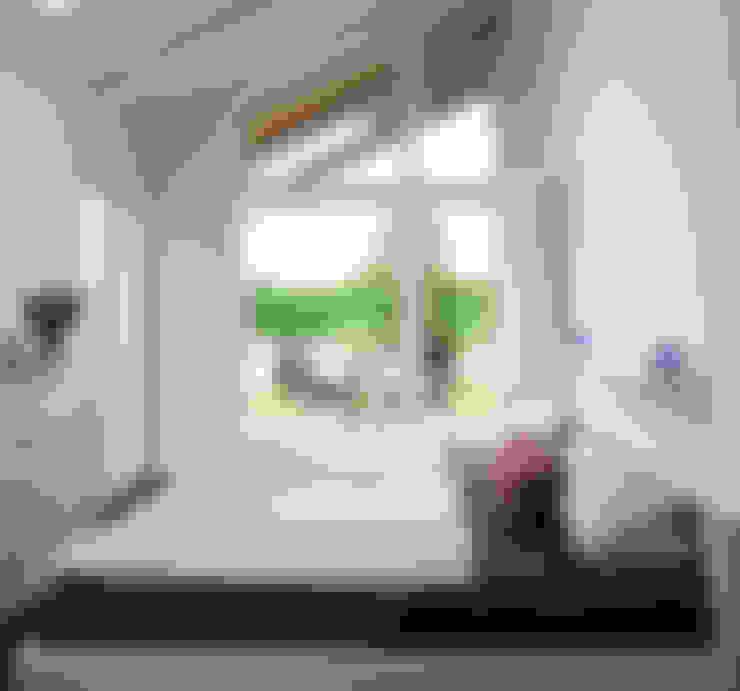 Slaapkamer door Stockwerk Orange