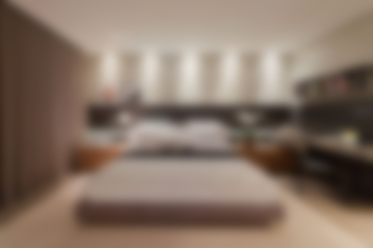 Dormitorios de estilo  por LEDS Arquitetura
