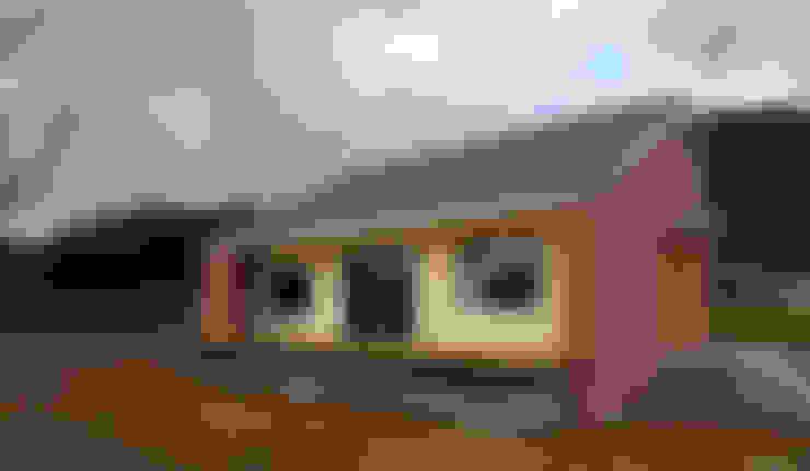 房子 by (주)오우재건축사사무소 OUJAE Architects
