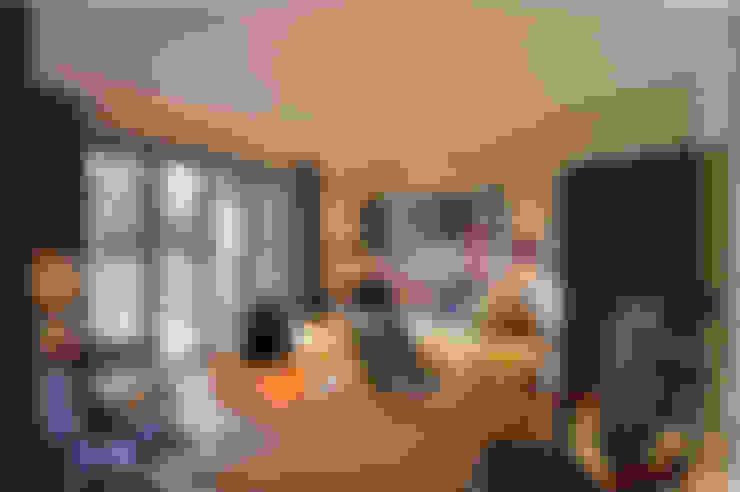 Projekty,  Domowe biuro i gabinet zaprojektowane przez Zodiac Design