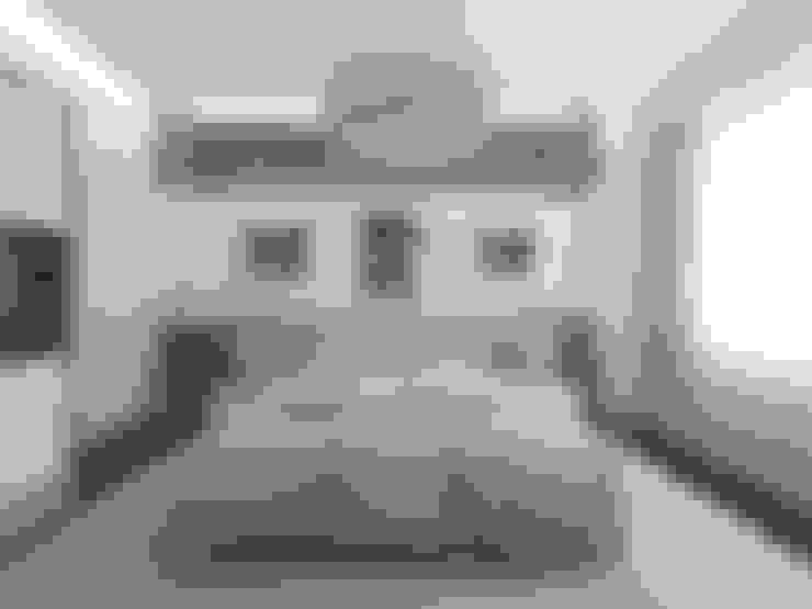 Спальная комната  в . Автор – İNDEKSA Mimarlık İç Mimarlık İnşaat Taahüt Ltd.Şti.