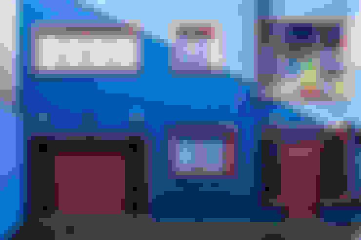 Fachada Frontal: Casas  por Blacher Arquitetura