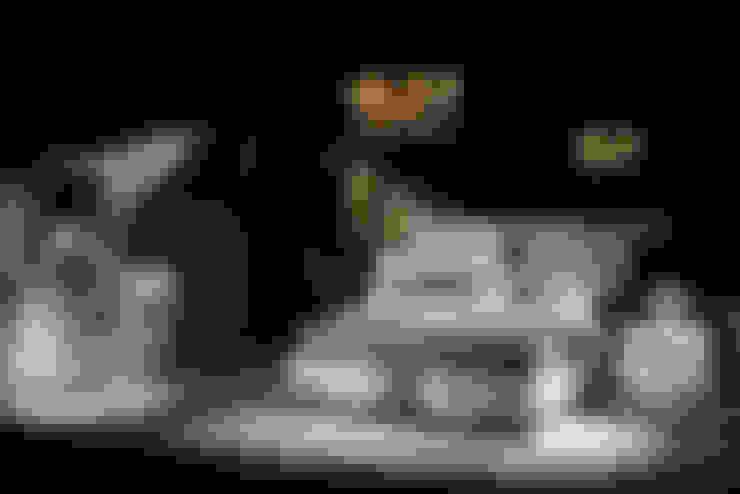 Trabcelona Design – Grant yatak odası :  tarz Yatak Odası