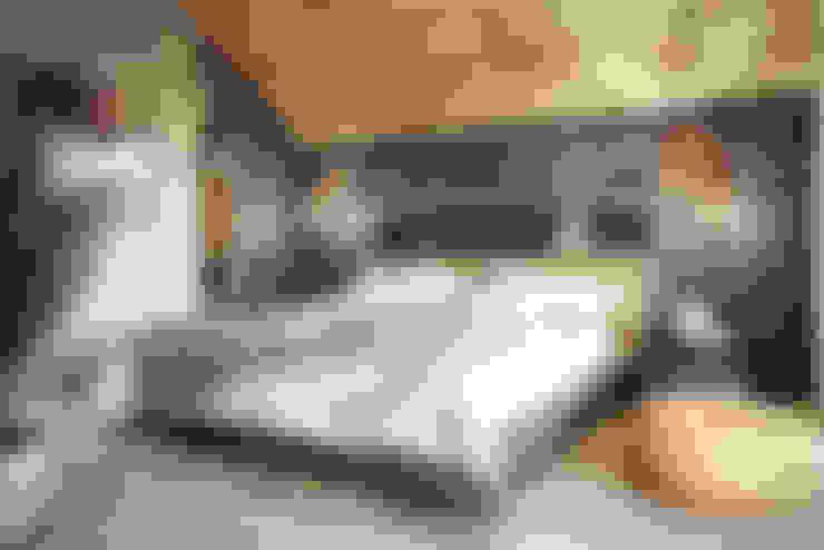 غرفة نوم تنفيذ razoo-architekci