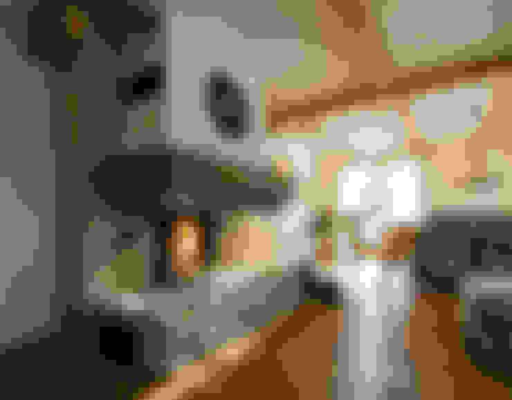 Living room by Beinder Schreinerei & Wohndesign GmbH