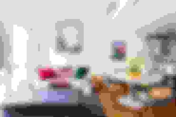 Salones de estilo  de Pereira Reade Interiores