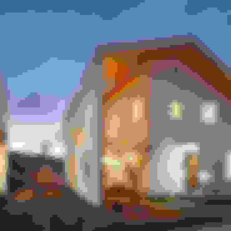 금성동 한울타리 주택: 리을도랑아틀리에의  주택