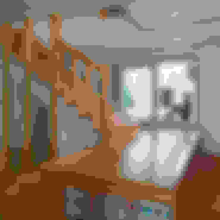 غرفة المعيشة تنفيذ 리을도랑아틀리에
