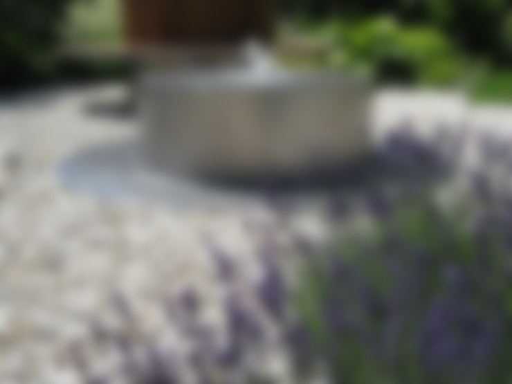 Fontanna nowoczesna: styl , w kategorii  zaprojektowany przez Sungarden - Projektowanie i urządzanie ogrodów