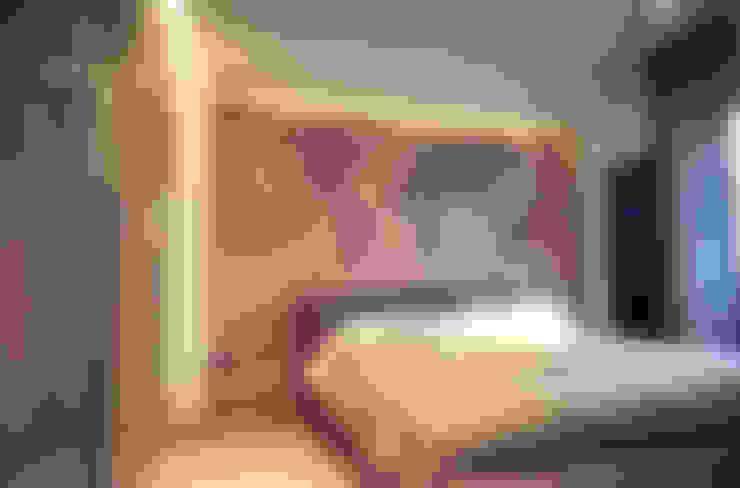غرفة نوم تنفيذ Studio  Vesce Architettura