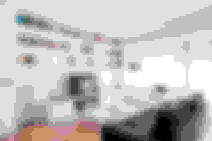 Salas / recibidores de estilo  por zero6studio - Studio Associato di Architettura