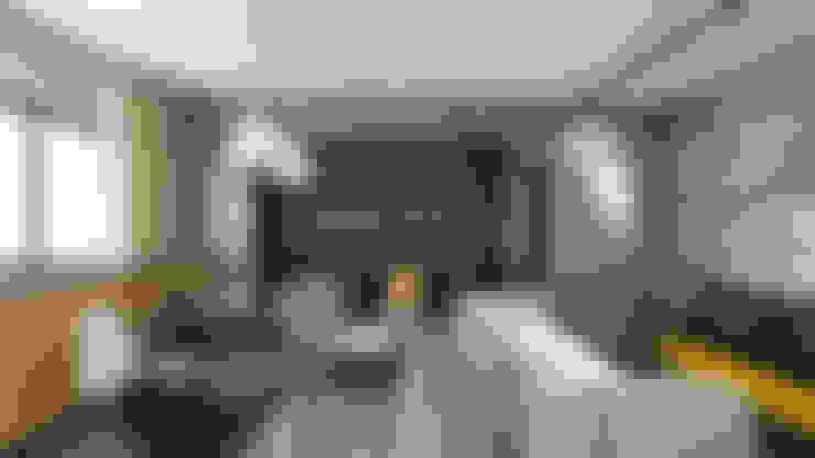 Apartamento IM: Salas de estar  por 285 arquitetura e urbanismo