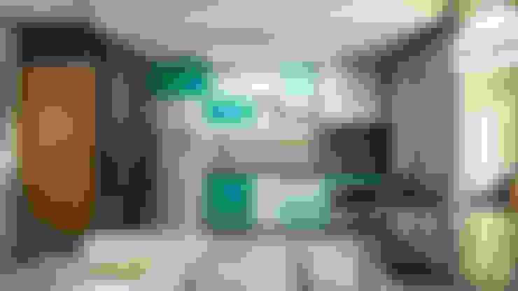 Apartamento IM: Cozinhas  por 285 arquitetura e urbanismo