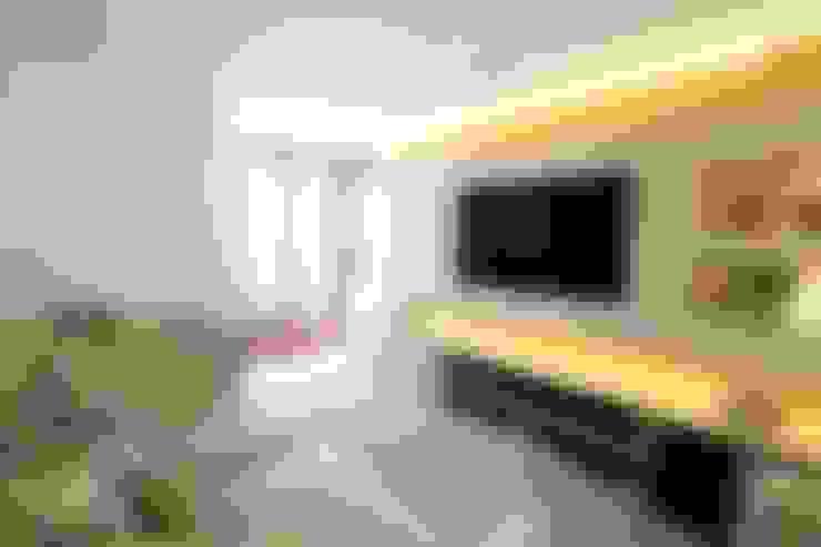 غرفة الميديا تنفيذ MeyerCortez arquitetura & design
